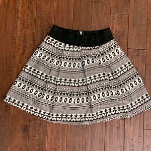 Francescas Mi Ami black and white skirt